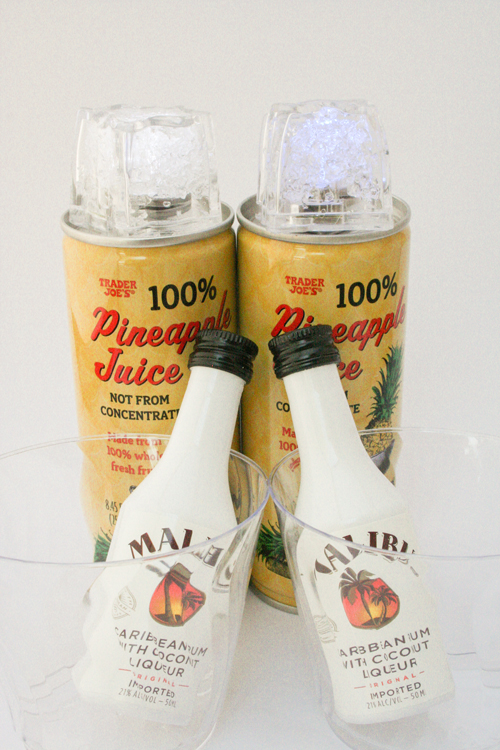 Pineapple Juice and Rum Fish Extender Idea