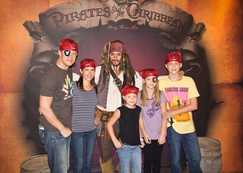We love pirate night!