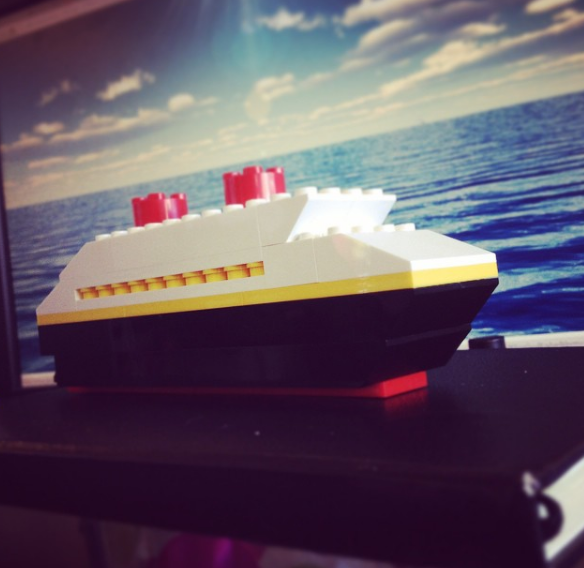 Mini Lego Disney Cruise Ship Fish Extender Gift Ideas
