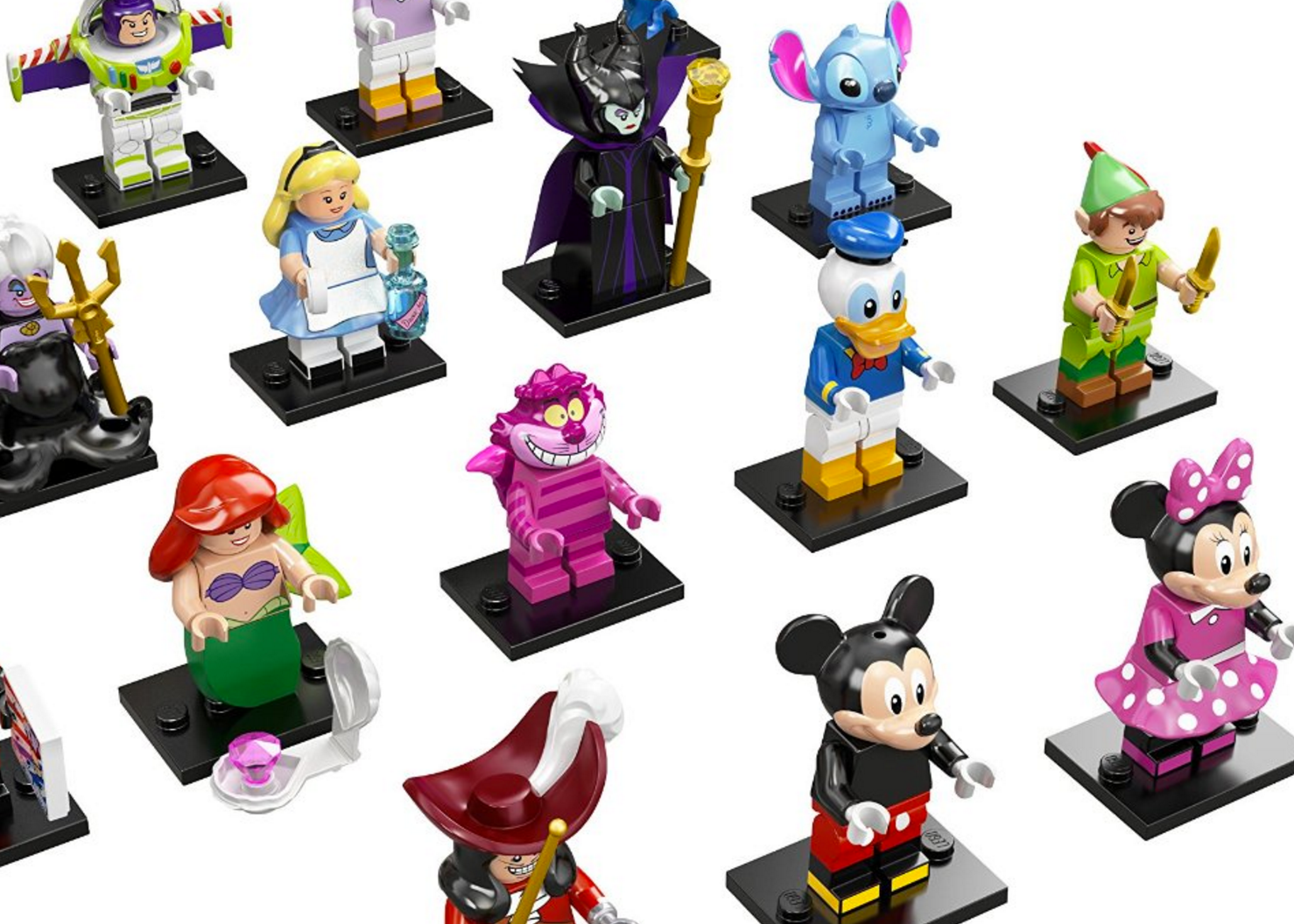 LEGO Disney Minifigures Fish Extenders