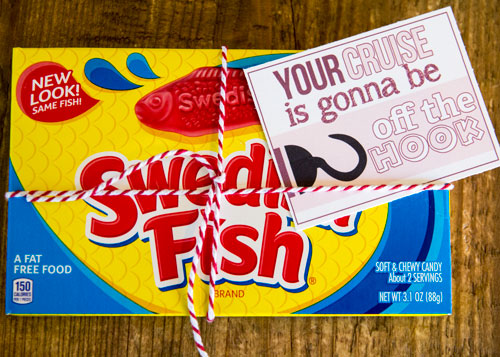 Swedish Fish Gift Idea for Fish Extenders