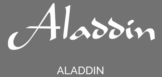Free Aladdin Movie Font