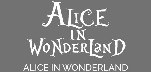 Free AAlice in Wonderland Font