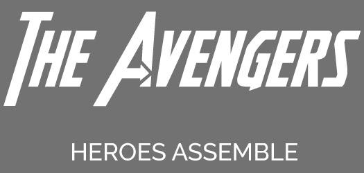 the avengers font