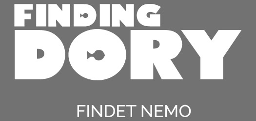 Free Finding Dory Movie Font