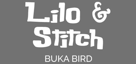 Free Lilo & Stitch Movie Font