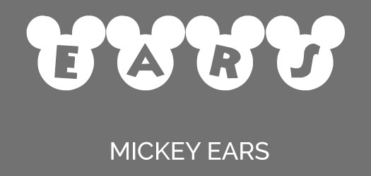 Free Mickey Head Letters Font