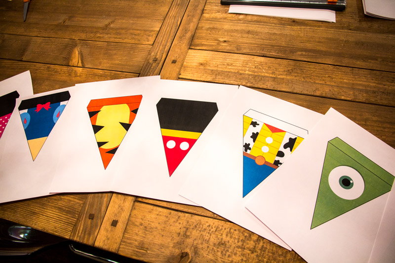 Free Disney Pennants: Download and Print