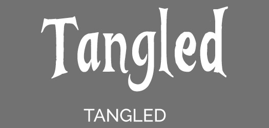 Free Tangled Movie Font