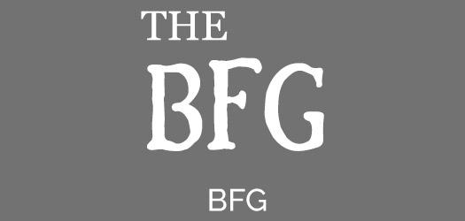 Free BFG Movie Font
