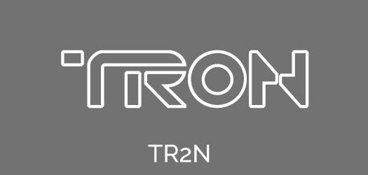 Free TRON Movie Font