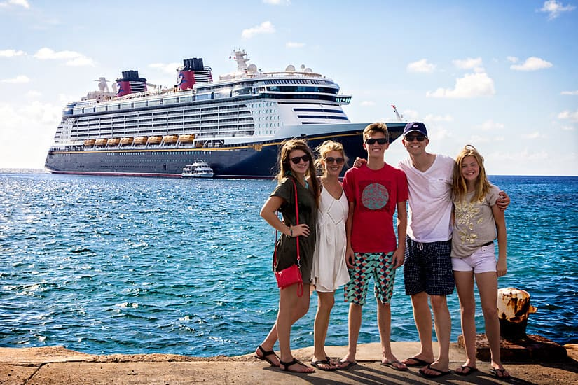 family cayman cruiseship Perks Of All Inclusive Disney Cruise Packages