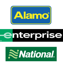 Alamo Enterprise National logos