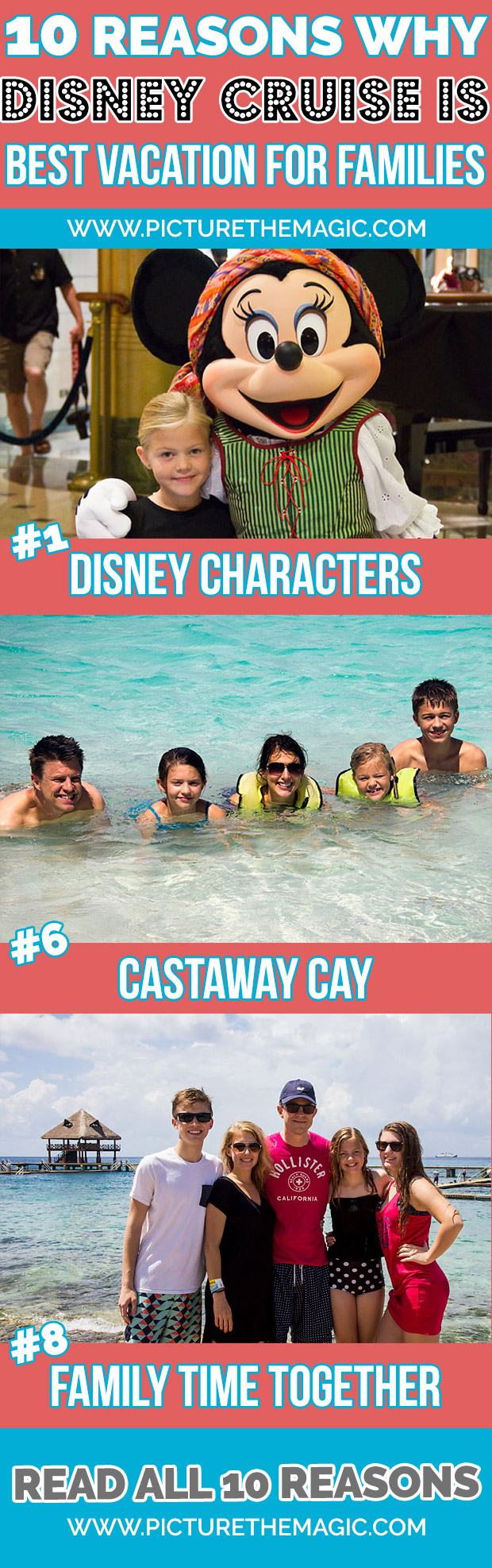 10 Reasons Why Disney Cruise is Best Vacation for Families. Ever.