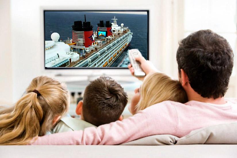 Watching Free Disney Cruise DVD