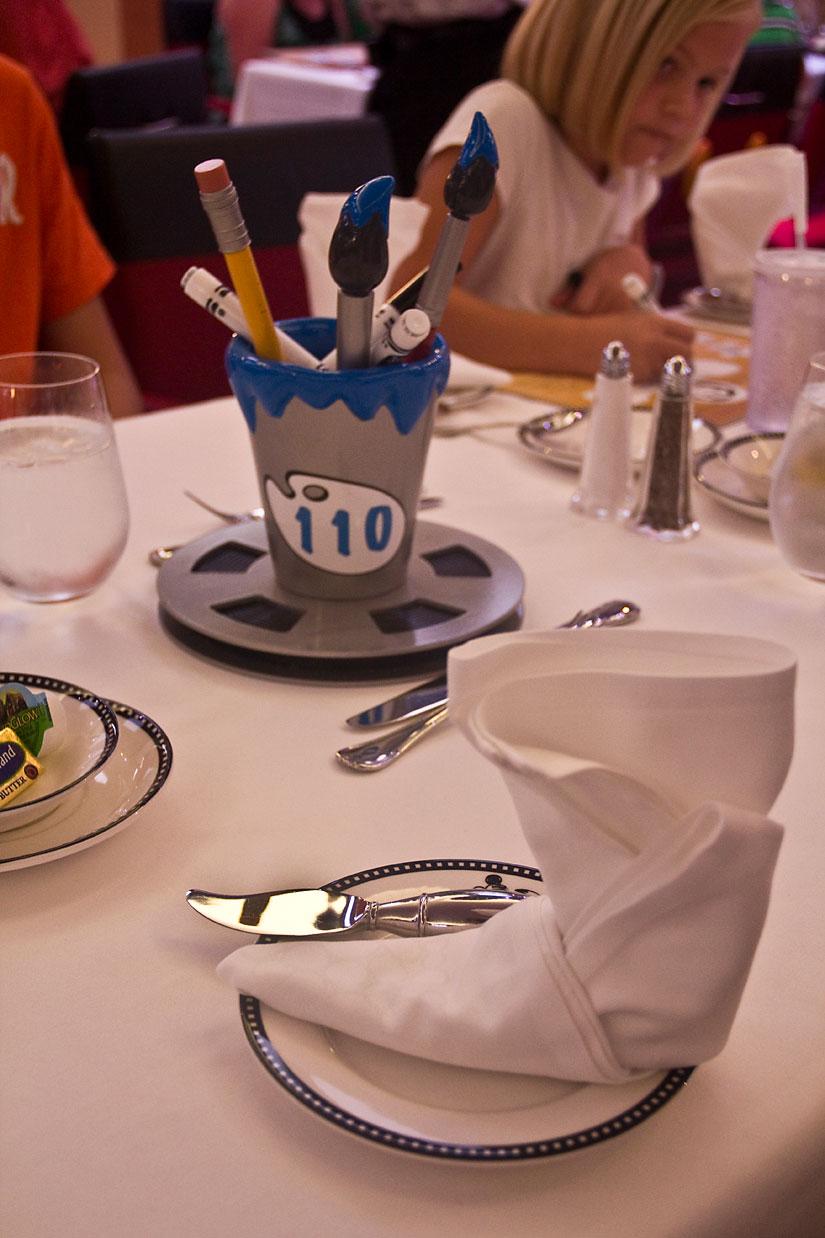 Animator's Palate Restaurant on Disney Cruise