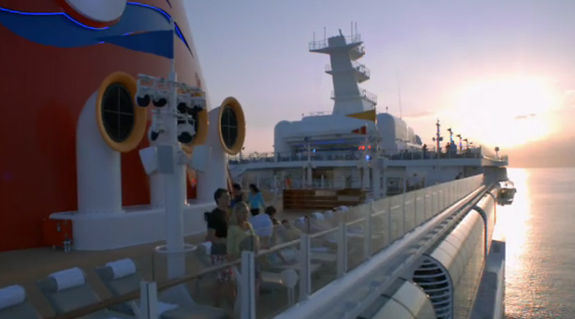 Sunset from Free Disney Cruise DVD