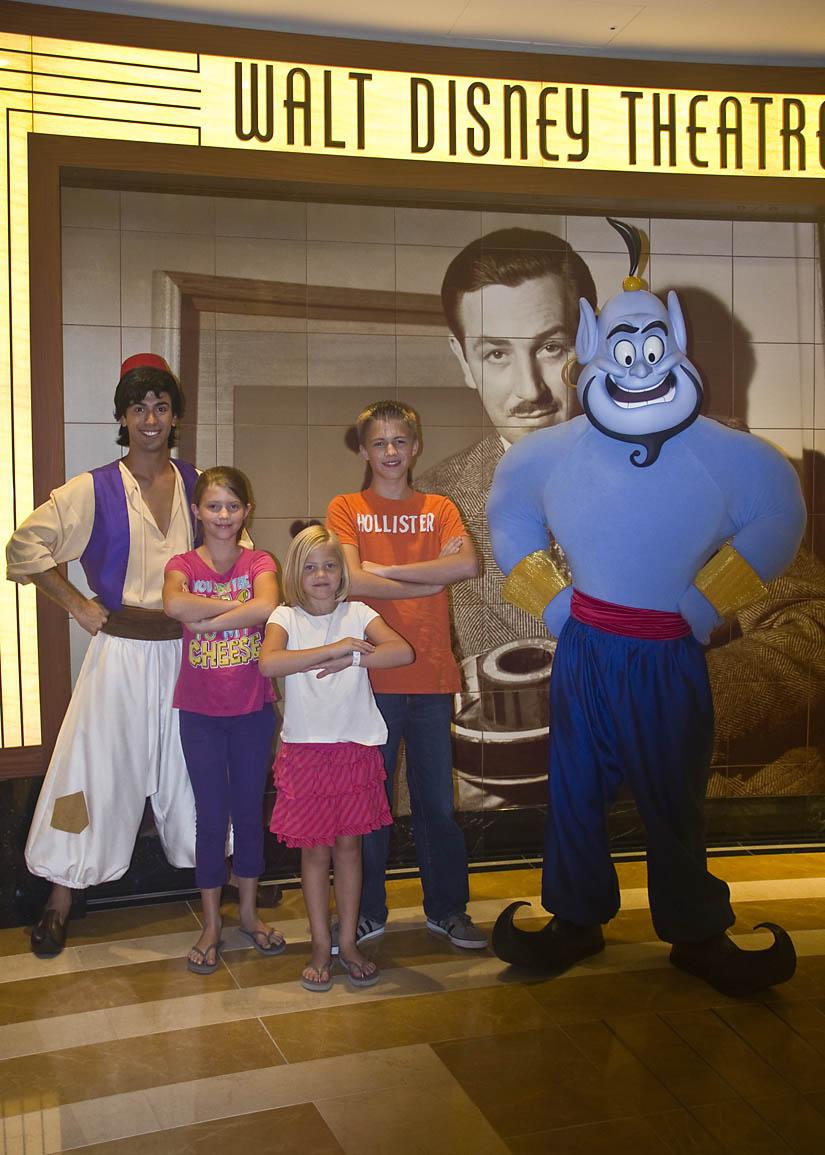 Walt Disney Theatre Aladdin