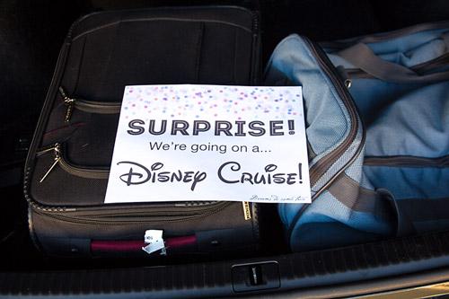 Same Day Surprise Disney Vacation Scavenger Hunt