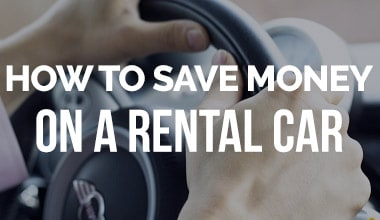 How to Save Money on a Rental Car