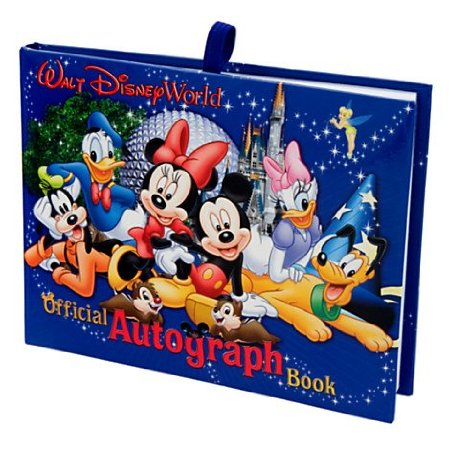 Disney Official Autograph Book