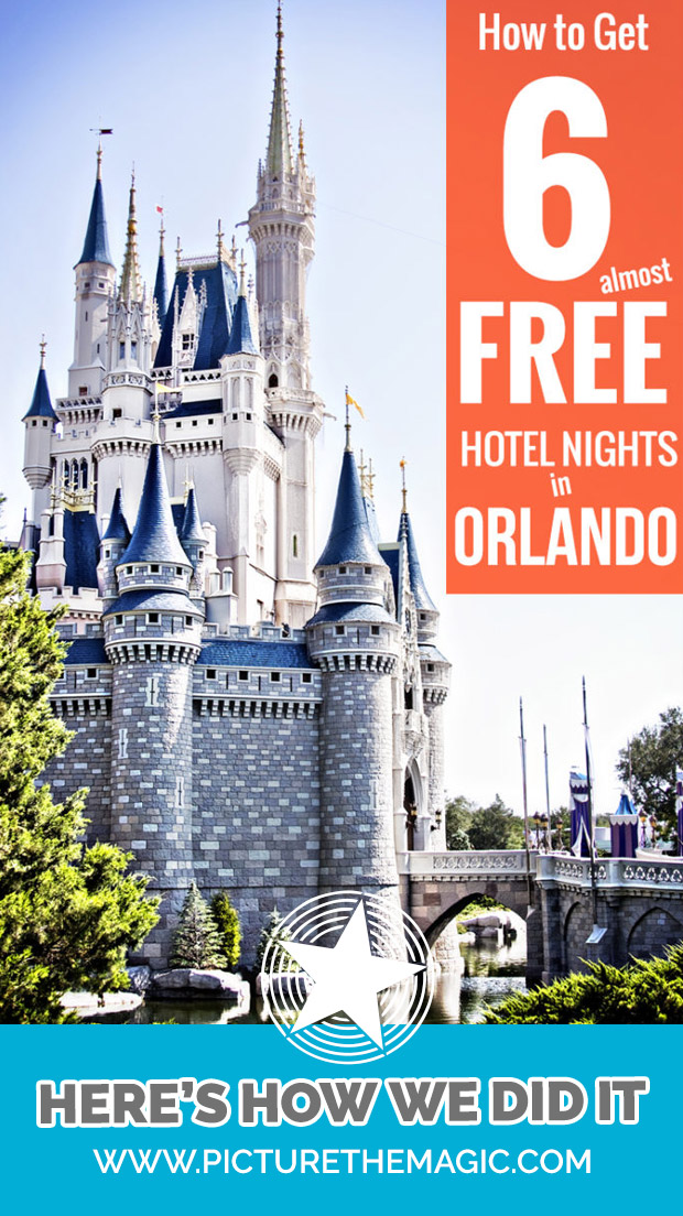 Wow! How to get six free nights at a DisneyWorld hotel