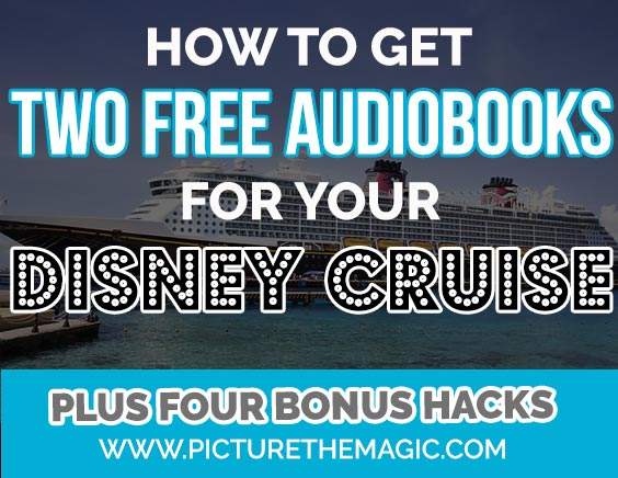 Free Audiobooks! For your Disney Cruise
