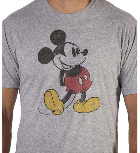 Mickey Mouse: Iconic Tshirt Design