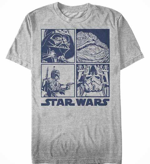Baddies: Star Wars Shirt