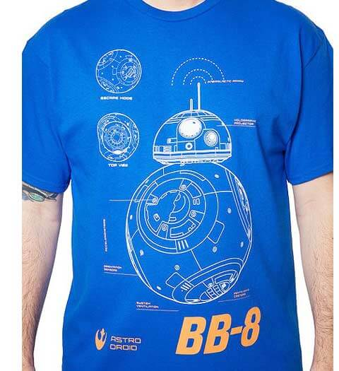BB8 Droid -- Star Wars Shirts
