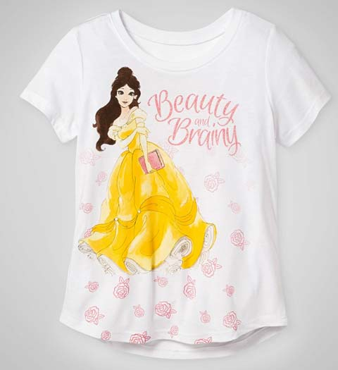 Cute! Beauty and Brainy:  Beauty and the Beast Shirt