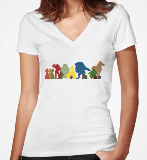 The Whole Cast: Beauty and the Beast Tshirt