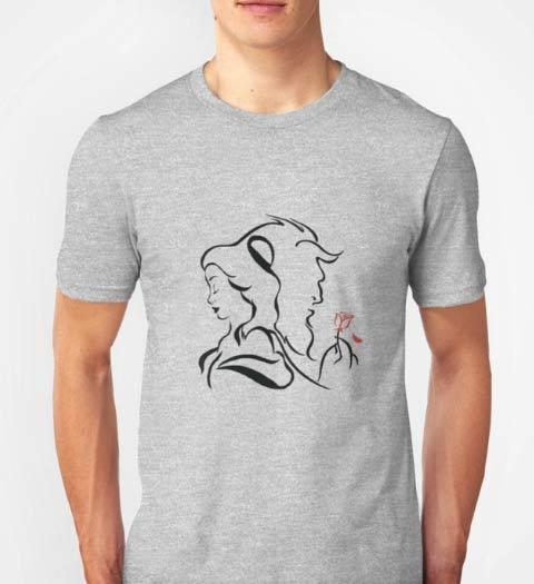 Beauty and the Beast Logo shirt