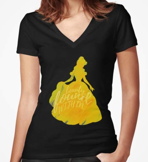 Beauty Within: Beauty and the Beast Shirt