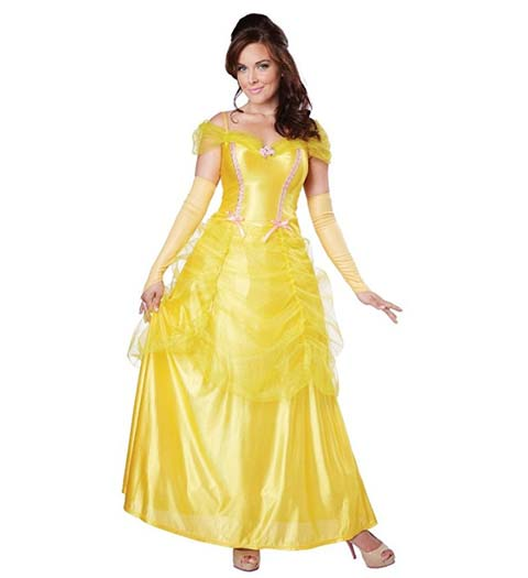 Yellow Belle Dress! Beauty and the Beast