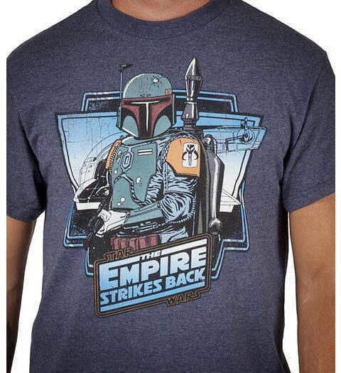 Boba Fett and The Empire Strikes Back shirt