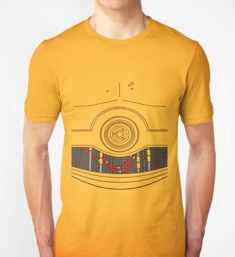 C3PO! Funny Star Wars T-Shirt