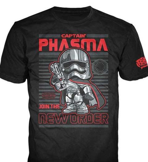 Captain Phasma Star Wars T-Shirt