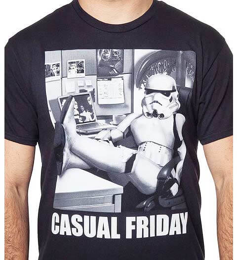 Casual Friday Stormtrooper Star Wars Shirt