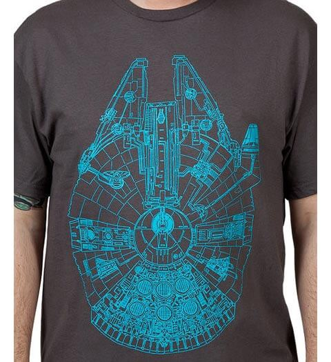 Millennium Falcon: Star Wars Shirts