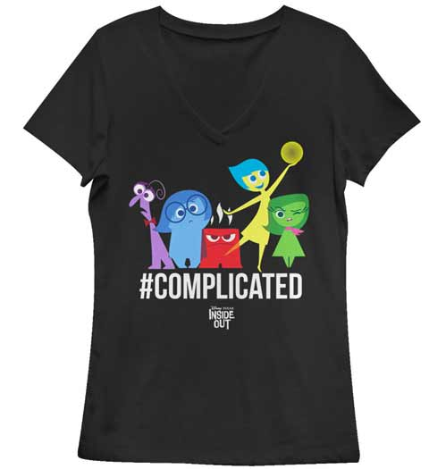 #complicated -- Inside Out tshirt