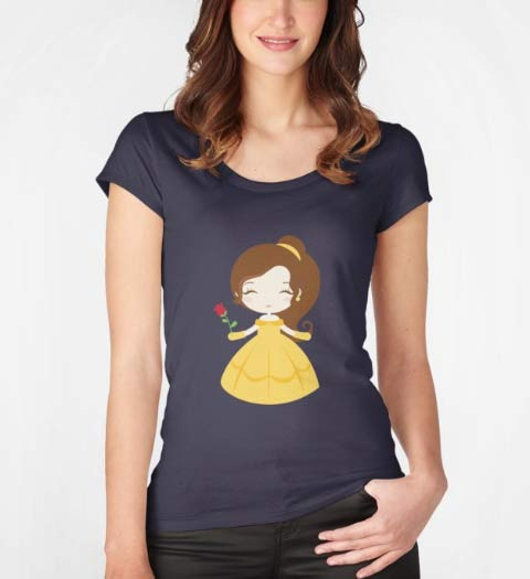 Cute! Beauty and the Beast Shirt