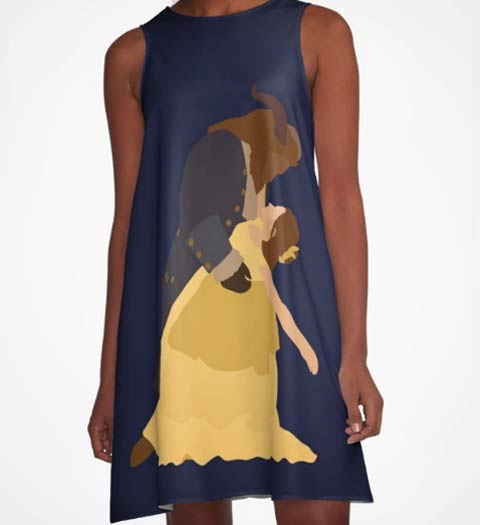 Classic Love: Beauty and the Beast Dress