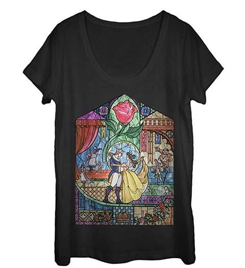 Mosaic: Beauty and the Beast Tshirt