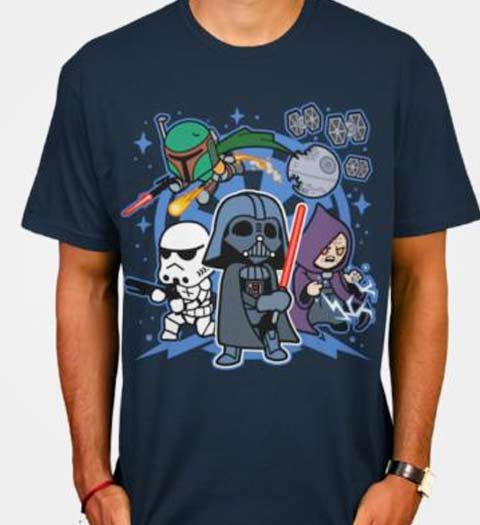 Darth & Friends! Star Wars Shirt