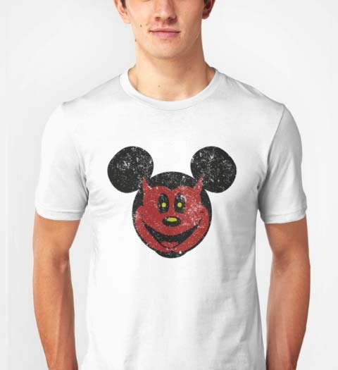 Devil Mickey Mouse Shirt
