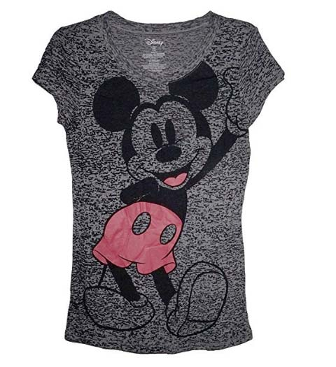 Casual Mickey Mouse Shirt for Ladies