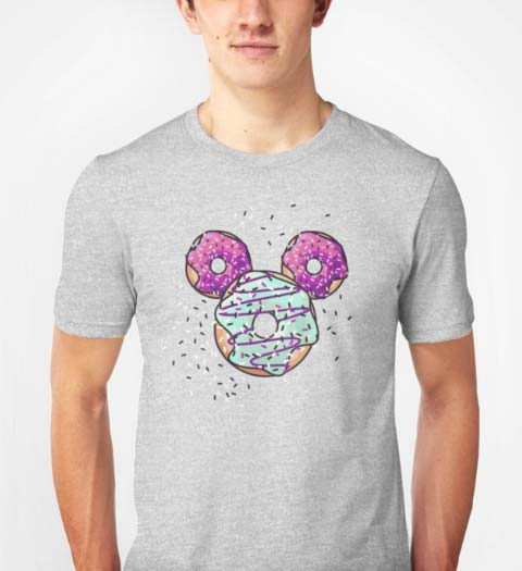 Donut! Mickey Mouse Shirt