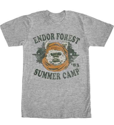 Endor Forest Summer Camp: Star Wars Shirt