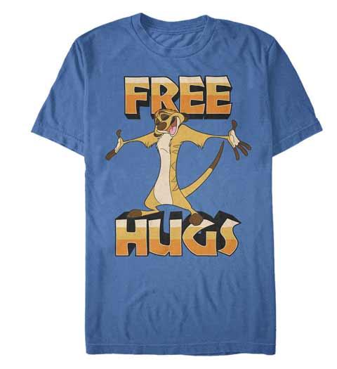 Free Hugs! Lion King Shirt